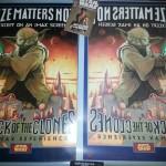 Afiche Cinemático IMAX, Star Wars Episodio II: Ataque de los Clones