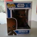 Chewbacca Bobble Head de Funko Pop!